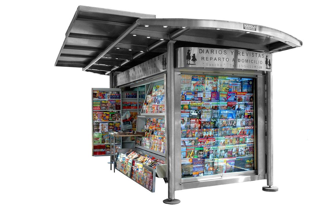 Kioscos manolo for Imagenes de kioscos de madera
